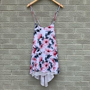 Spiritual Gangster Floral Double Layer Tank